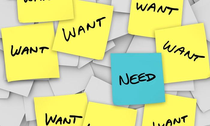 deseos y necesidades