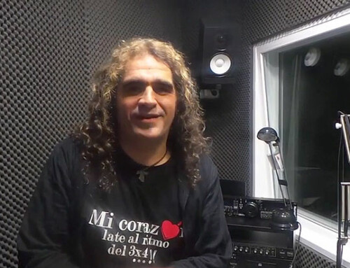 Diego Cruz en el programa de Radio Humor&CO de Onda CRO