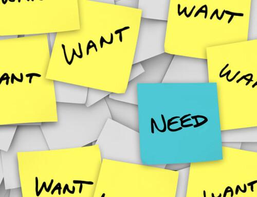 Deseos y necesidades del Ser humano