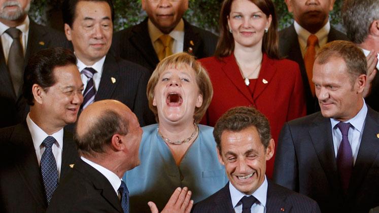 El sentido del humor en los políticos