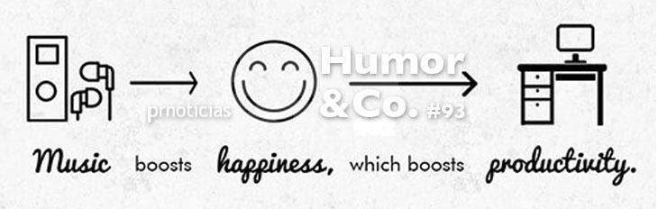 Pon MÚSICA en tu empresa. Humor&Co.