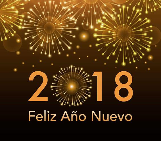 Feliz año nuevo para todos nuestros luneros con humor. Hudipro.