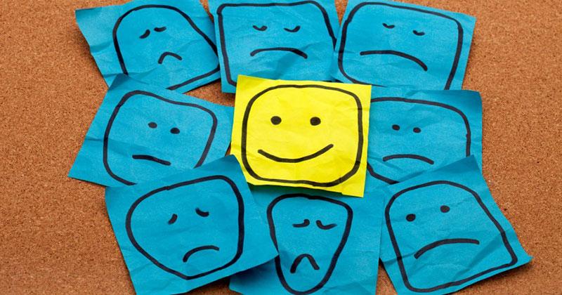 Cualidades y emociones de la Actitud Negativa y Actitud Positiva. Hudipro.