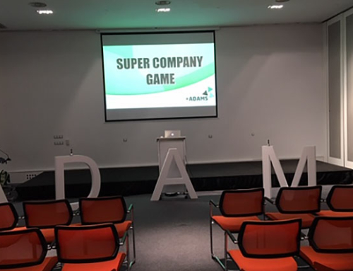 ¡¡¡Como nos divertimos en el Supercompany Game con ADAMS!!!
