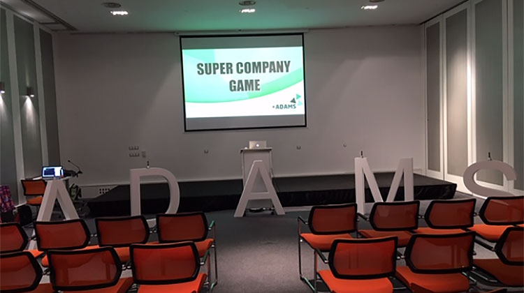 ¡¡¡Como nos divertimos en el Supercompany Game con ADAMS¡¡¡