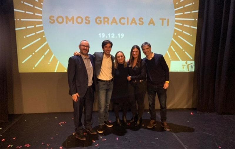 """Disfrutamos en el encuentro de""""Asociación Trama"""": SOMOS GRACIAS A TI"""