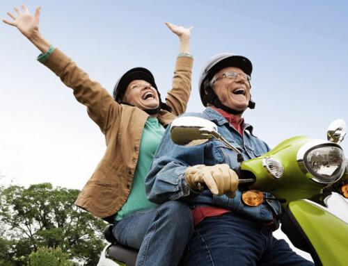 Prefiero envejecer con alguien con quien me ría