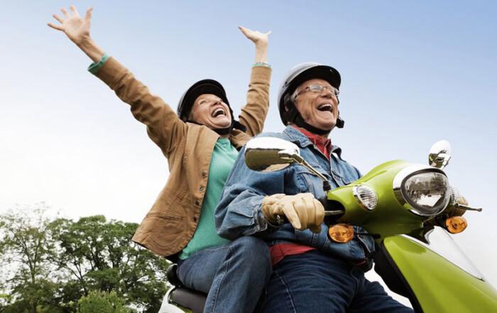 Prefiero envejecer con alguien con quien me ría. Hudipro